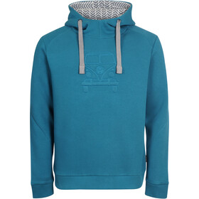 Elkline Advantage Hoodie Men, blue coral